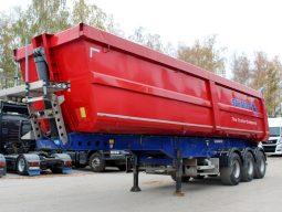 Schmitz Cargobull SKI 24-SL 31 m3 стальной полукруглый кузов