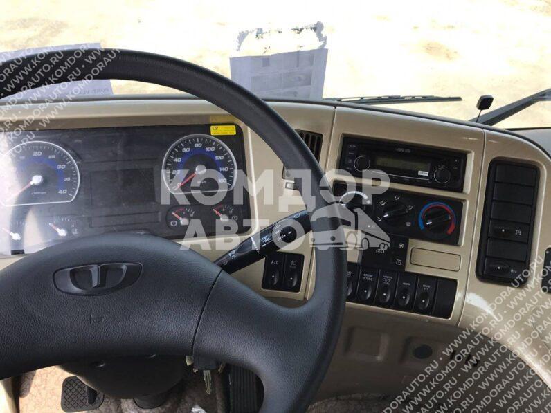 Грузовик с манипулятором HTS 2076 на шасси Daewoo Novus CH7CA full