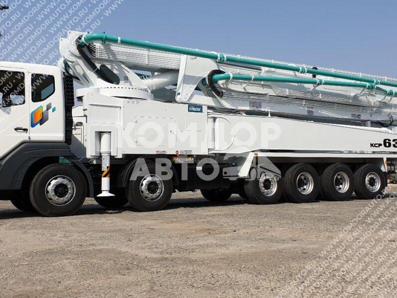 Автобетононасос KCP 63ZX6170 (63 м) на шасси Daewoo Novus CR9CS full