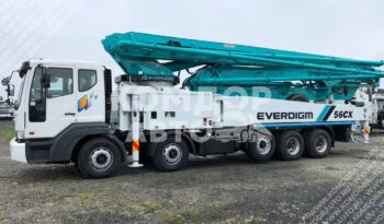 Автобетононасос Everdigm 56СХ-5 (56м.) на шасси Daewoo Novus full