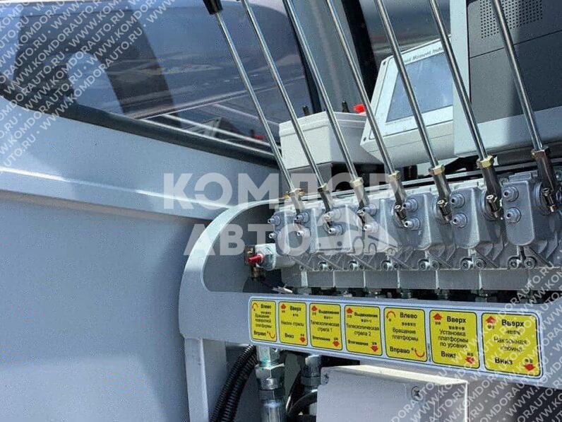 Автовышка Horyong NSKY750SF на шасси Daewoo Novus CR9CS full