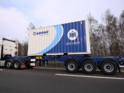 Krone контейнеровоз Box Liner SDC 27 eL FS 10 GB