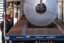 Лоток также для больших рулонов диаметром 2100 мм