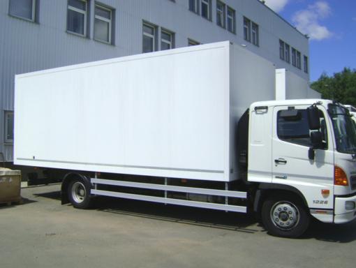 Фургон изотермический HINO 500 GD8JMTA до 12т