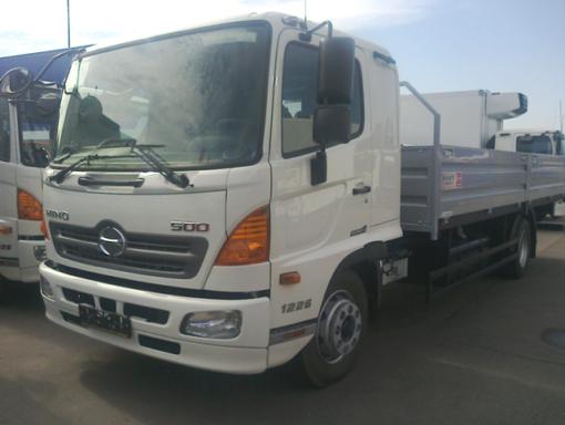 Бортовой фургон HINO 500 GD8JJTA до 12т