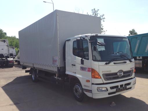 Бортовой фургон HINO 500 GD8JLTA до 12т Тентованный
