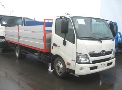 Бортовой фургон HINO 300 XZU710L до 8т