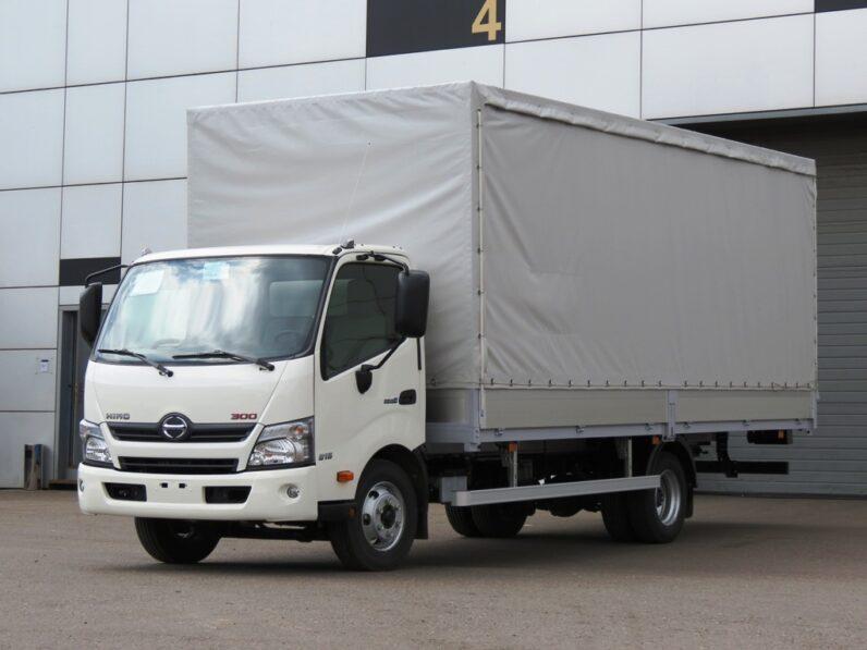 Бортовой фургон HINO 300 XZU730L до 8т full