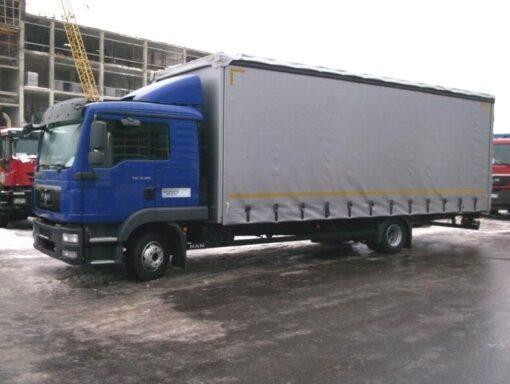 Фургон MAN TGL 12.180 4x2 BL L (штора)