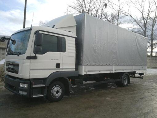 Фургон MAN TGL 12.180 4x2 BL C (тент)