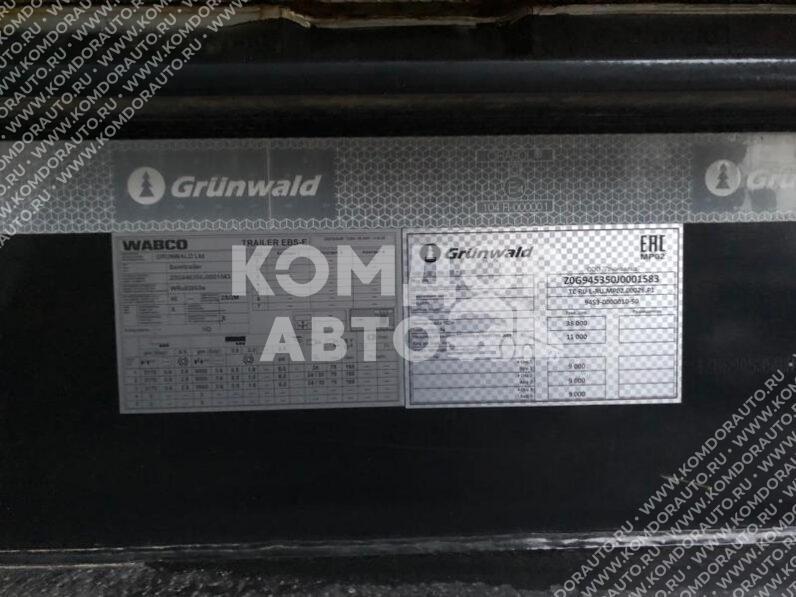Полуприцеп БУ Самосвальный Grunwald Tst 34 (спробегом) full